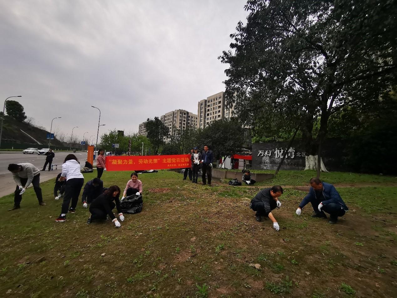 """""""凝聚力量•劳动光荣""""主题党日活动"""